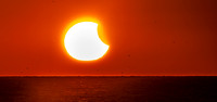 Partial Solar Eclipse-October 23, 2014