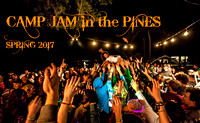 CAMP JAM in the PINES 2017 Spring